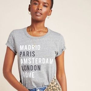 Sol Angeles X Anthropologie Foreign Cities Tee